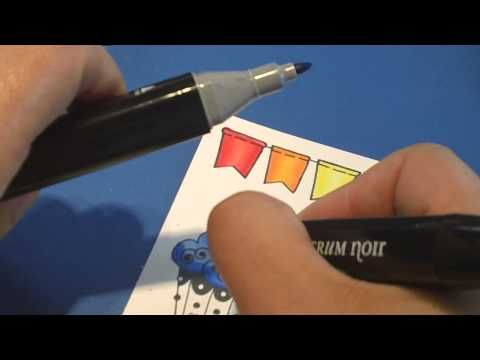 This blending tip will blow your mind & forever change how you use markers & felt pens! A fun technique for blending. Please comment below & let me know how ...