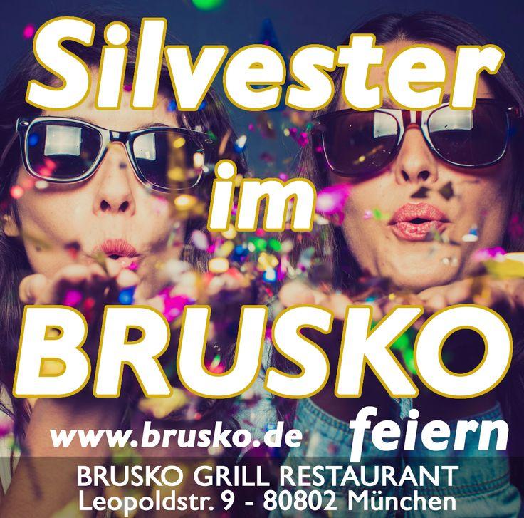 SIlvester im Brusko feiern. www.brusko.de #brusko #silvester #grill #restaurant #grieche #münchen