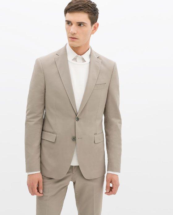 ZARA的图片 2 名称 灰色西装
