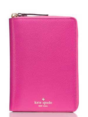grand street zip around personal organizer - Kate Spade New York