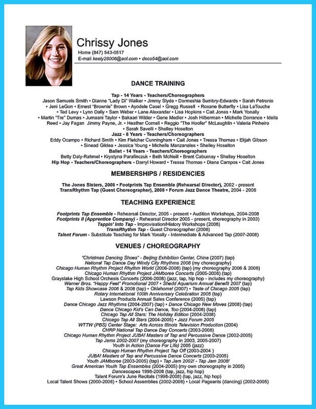 Essay Template Word Dance Resume Resume Examples Teacher Resume Template