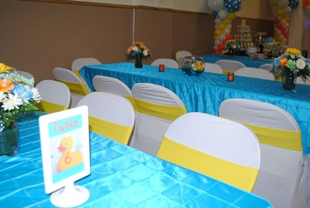 We Heart Parties: Rubber Duck Baby Shower Theme