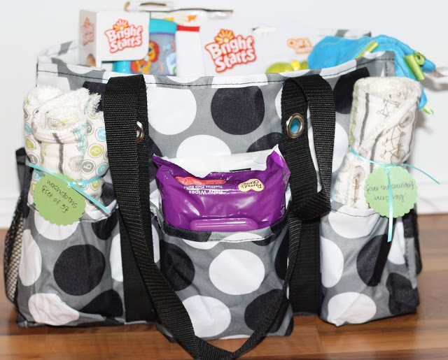 "Baby Shower Gift ""basket"""