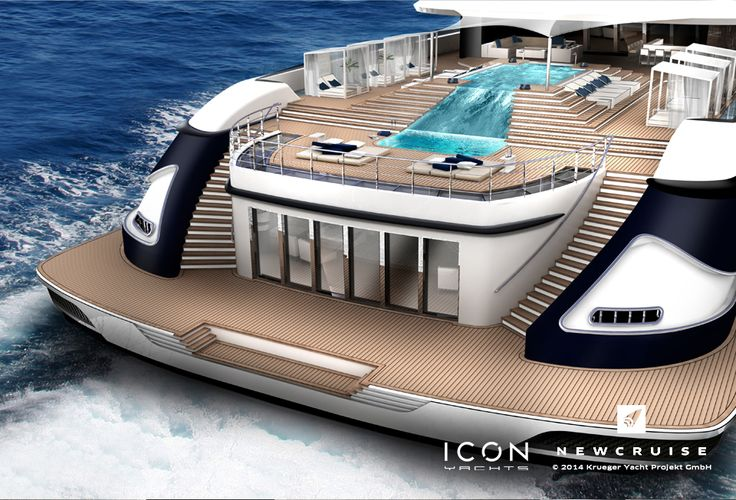 Project ONEFOURTYFIVE - Joint venture between ICON Yachts and NEWCRUISE Yacht Projects & Design