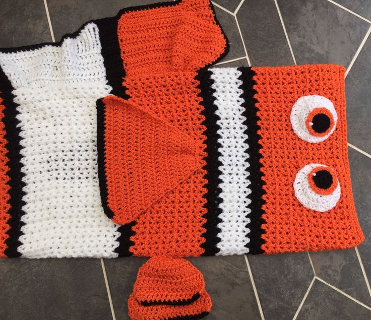 A personal favourite from my Etsy shop https://www.etsy.com/uk/listing/476782657/crochet-handmade-finding-nemo-inspired