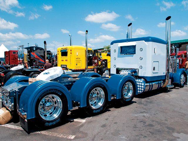 Chrome Stacks For Semi Trucks : Custom big rigs sale google search wheels pinterest