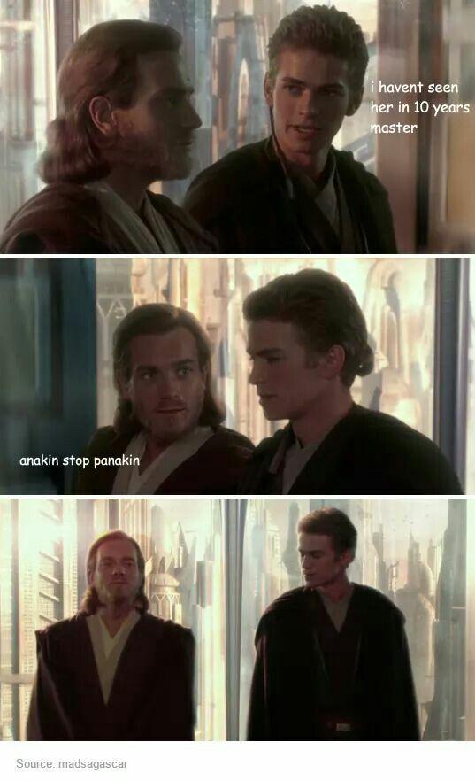 Star Wars Panakin lol