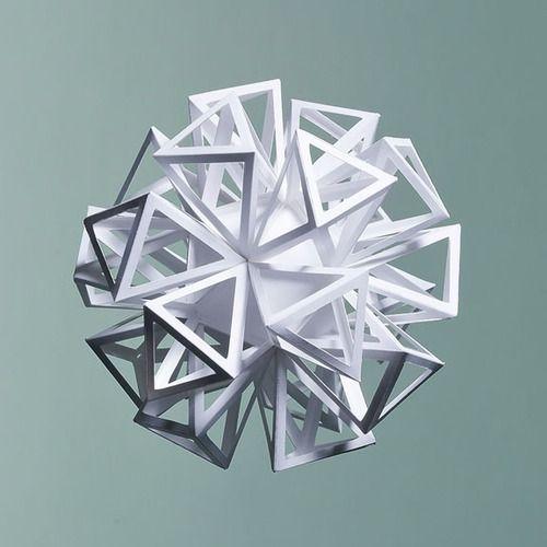 "Procrastination Vs. Motivation - Artist: Matthew Shlian  ""Ara114"" Paper 19"" x..."