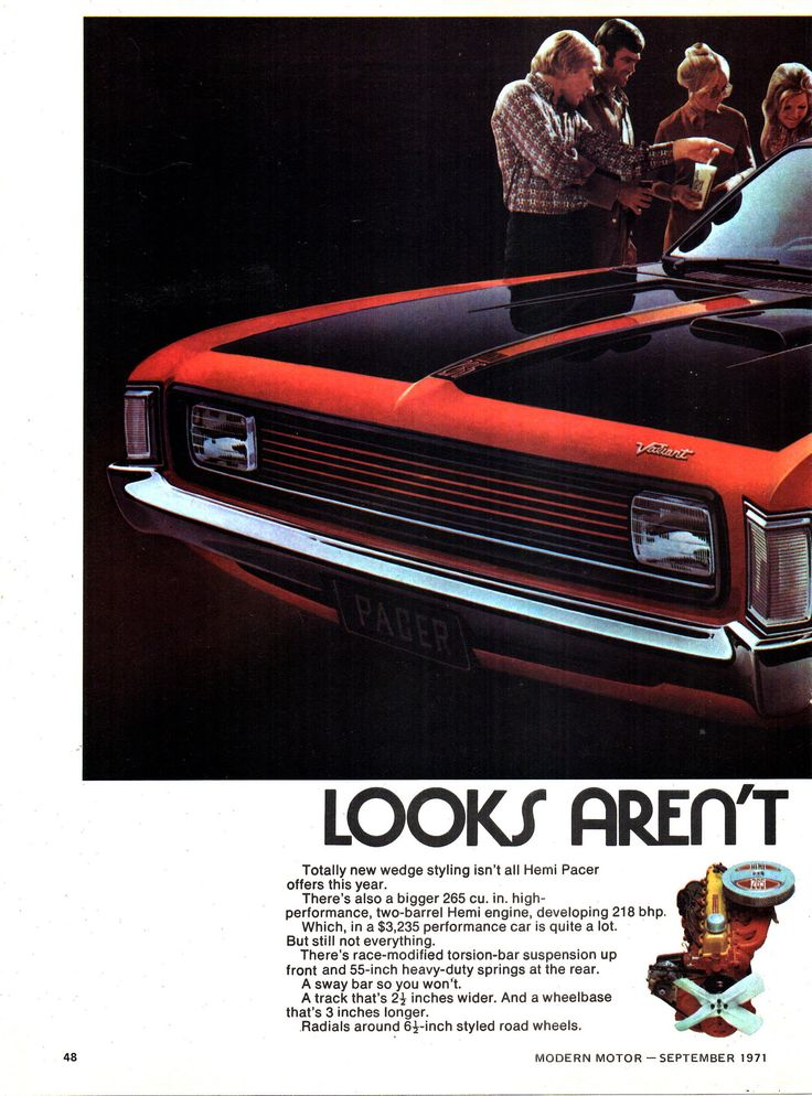 https://flic.kr/p/VhJ7Kk   1971 VH Chrysler Valiant Pacer 265 Page 1 Aussie Original Magazine Advertisement