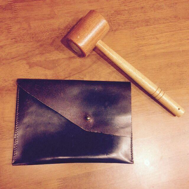 Leather Cigar bag