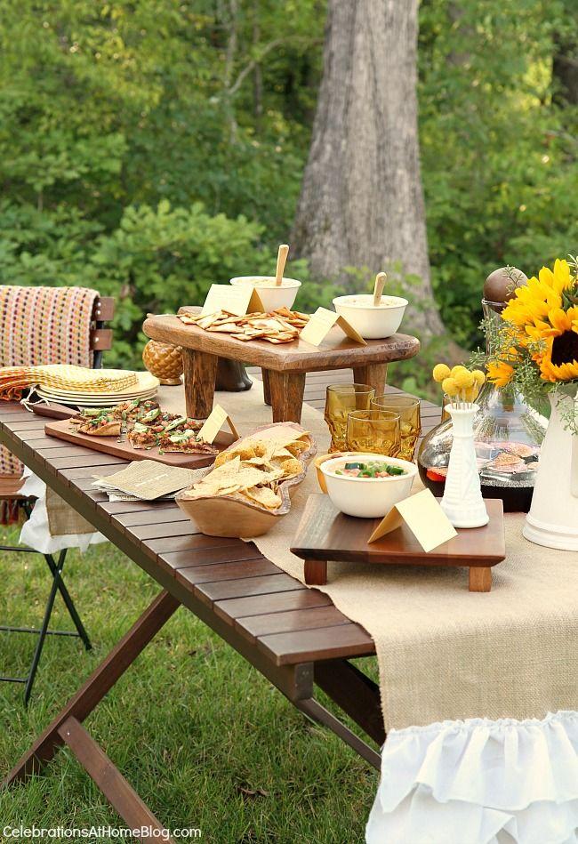 Enjoy appetizers u0026 sangria al fresco Entertaining