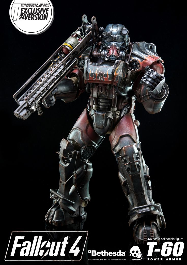 1/6th scale Fallout 4 T-60 Power Armor Collectible Figure (Exclusive and Retail Editions) are available for pre-order at www.threezerostore.com Check full details here: https://www.facebook.com/media/set/?set=a.1530055420353614.1073741975.697107020315129&type=1&l=0a88078326 #threezero #Fallout #Fallout4 #FO4 #Bethesda #BethesdaSoftworks #PowerArmor #T60 #collectible #toy #toys #hobby #collecting #toyphotography