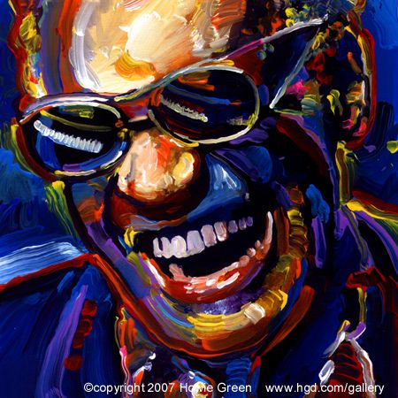 Ray Charles was born in 1930 in Albany, Georgia, the same year that another Georgia native by the name of Hoagy Carmichael, was already making his mark on the world. It's ironic that these two Georgia natives would someday cross paths again, as they did 30 years later when Ray Charles was asked by the State of Georgia to perform, in the Georgia Legislative Chambers, the song they had selected as their state song.