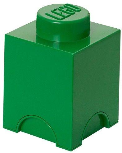 Slingert jouw LEGO ook rond op jouw slaapkamer? Dan is deze LEGO opbergbox de oplossing. In deze groene LEGO steen past heel veel LEGO. Maar misschien wil je 'm wel gebruiken in de badkamer of in de speeltuin. Het kan allemaal want deze stevige LEGO steen kan wel tegen een stootje. De steen is stapelbaar met alle andere LEGO brick varianten net als echte LEGO blokjes. Afmetingen: hoogte 15 cm, breedte 12 cm.  - Opbergbox Lego: brick 1 groen
