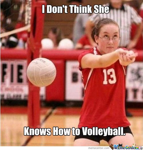 Good reactions? #volleyball #volleyballmemes #sport #sportmemes
