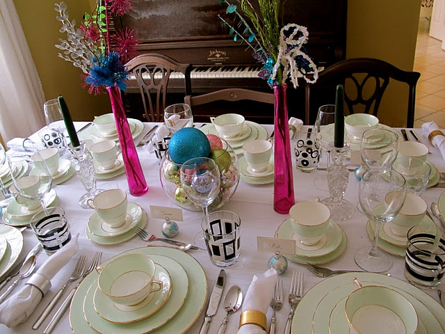 New years day Table setting