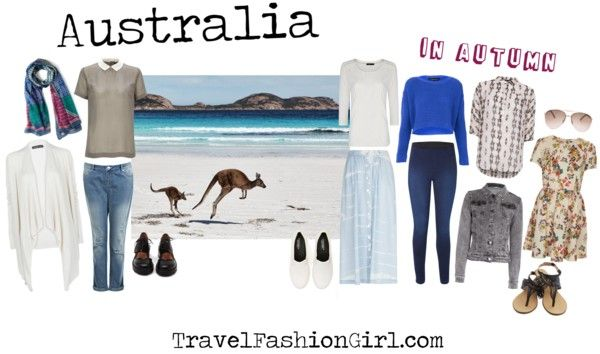What to Wear when Backpacking Australia in Autumn - March to May - 17 to 25 degrees C and windy.