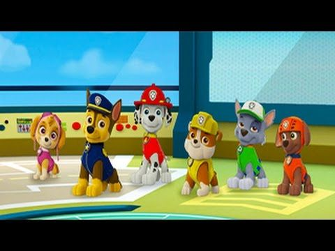 Paw Patrol Episode 1 Cartoon Game Race - Magic Kid Game - YouTube