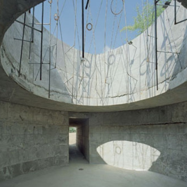 Subrosa Pantheon by Samuel Mockbee A place for meditation and sharing  secrets, the term 'subrosa' derives from the ancient Romans who would hang  roses from ...