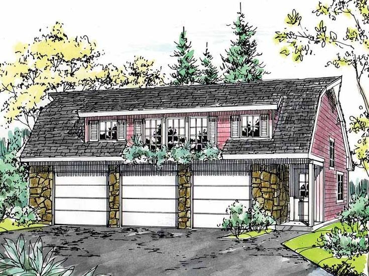 dutch colonial garage plans