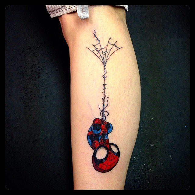 11 superhero tattoos that aren 39 t for the fainthearted fan for Nerd tattoo designs