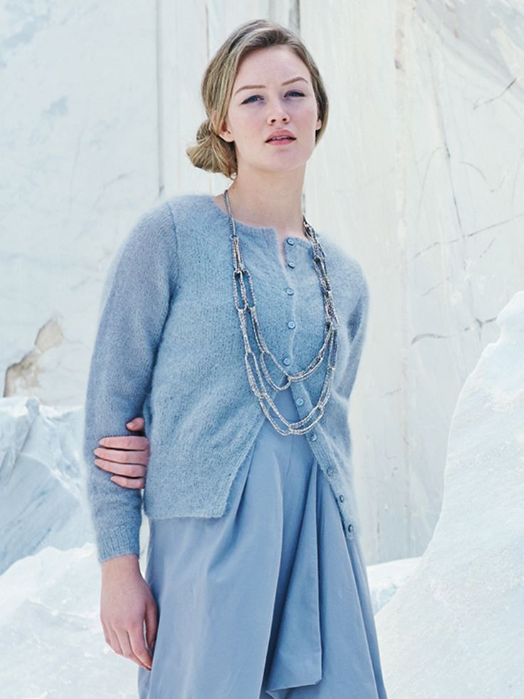Primrose - Knit this women's stocking stitch cardigan from the Simple Shapes…
