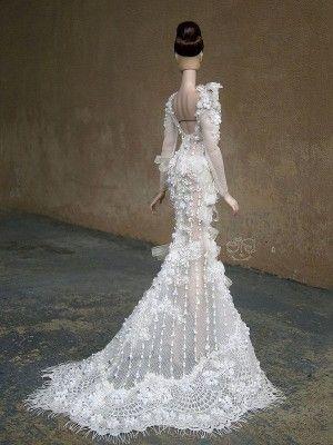 barbie wedding dress13