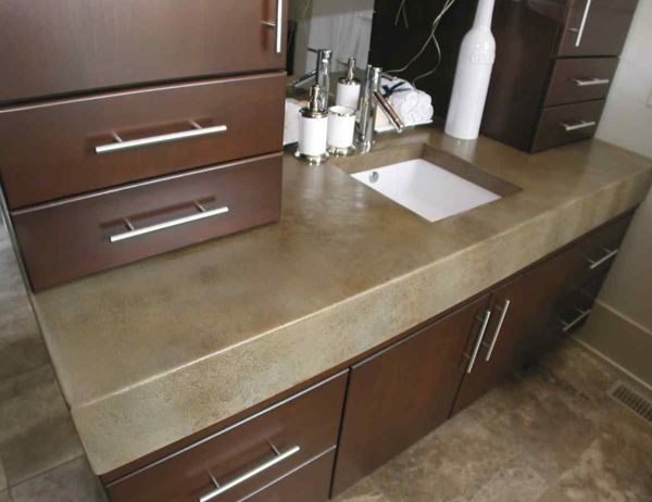 46 Best Images About Concrete Countertops On Pinterest
