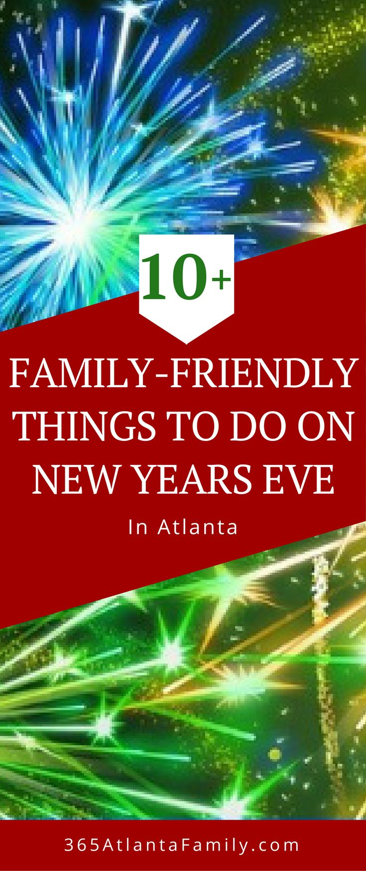 You'll love these ideas for things to do on New Years Eve in Atlanta. The whole family will love these activities. They are great for kids and even for teenagers! The experience you'll give them will be like giving them another Christmas gift. The fun of the holidays aren't over until this big celebration. Bring in the New Year the best way! #Christmas #holidays #Atlanta #NewYearsEve #NewYears #family #kids #events #activities
