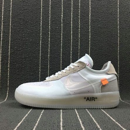 brand new 4b513 d9d64 Cheapest And Latest Spring Summer 2018 Really Cheap Authentic OFF-WHITE x Nike  Air Force 1 Low AF1 OW White AO4606-100