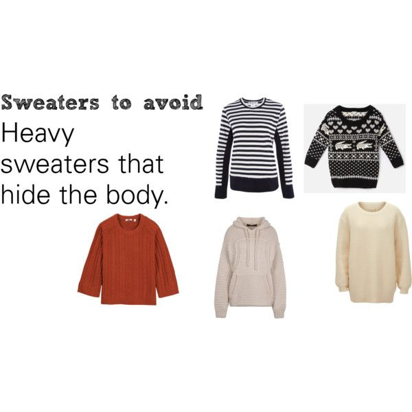 """""""Soft Natural (SN) - Sweaters to avoid"""" by lightspring on Polyvore"""
