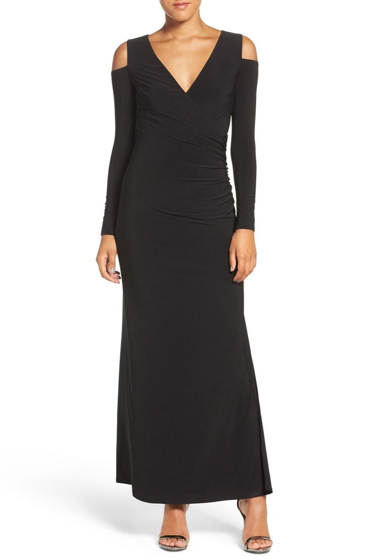 Cold Shoulder Jersey Gown by Laundry By Shelli Segal on @nordstrom_rack