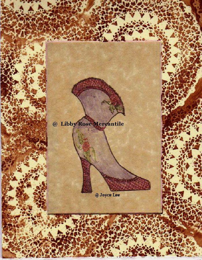 Lavender Love High Stepping 1800s Victorian Fine Art Print by LibbyRoseMercantile on Etsy