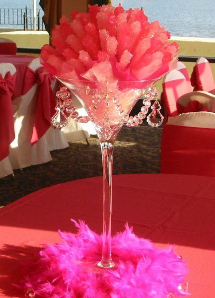 rock+candy+centerpieces+for+weddings+ | Bar Mitzvahs and Bat Mitzvahs
