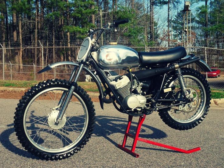 Hodaka Combat Wombat..my motorcycle when I was 14