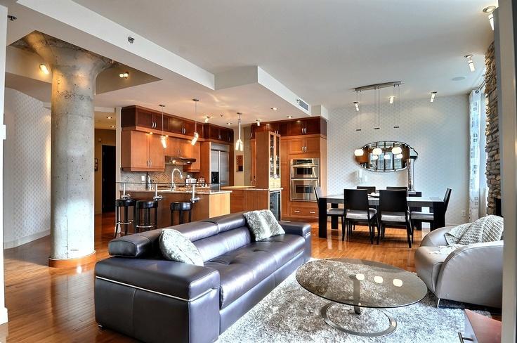 Immobilier de luxe   Achat Appartement Montreal Canada   Vente Condo exceptionnel à Montréal