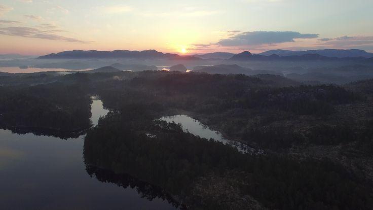 Sunrise Sveio Norway