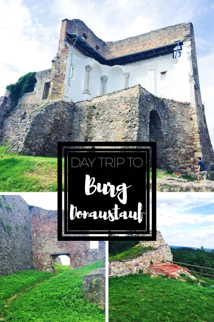 Burg Donaustauf | Looking for a day trip to one of Germany's many castle ruins? This one is a must see!