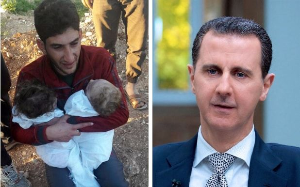 4/14/17 Bashar al-Assad still has 'hundreds of tonnes' of chemicals stockpiled, former Syrian weapons research chief claims