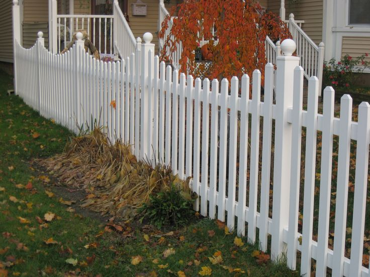 cape cod fence styles | ... Picket Fencing | Vinyl Picket Fence Product Lines - Vinyl Deck & Fence