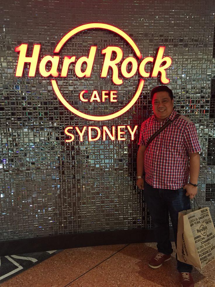 Hard Rock Cafe Sydney at Darling Harbour