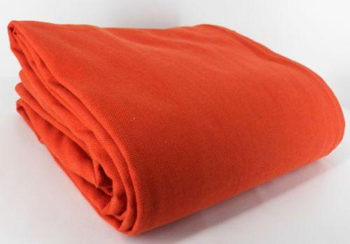 Pottery Barn Burnt Orange Lined Rod Pocket Curtains Drapes Heavy 50 x 84 WK5B | eBay
