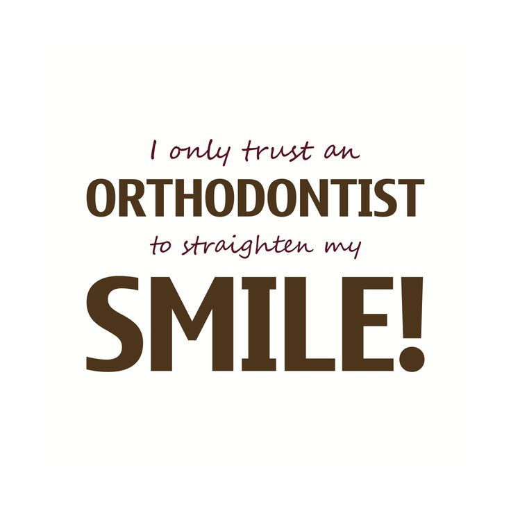Orthodontic contest, marketing, planning, etc.  I only trust an orthodontist to straighten my smile.  #OrthoMarketing #Braces  Learn more about The Whiddon Group's creative designs at www.WhiddonGroup.com
