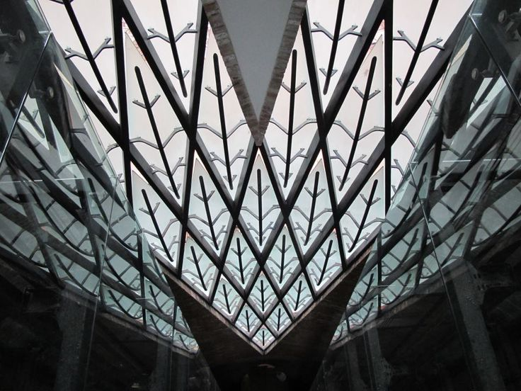 MSF Tower Interior #roof #lighting #architecture