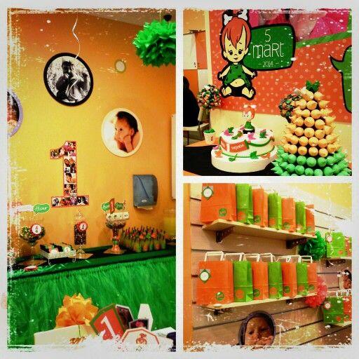 Çakıl Temalı 1 yaş partisi, 1st birthday party, Pebble party