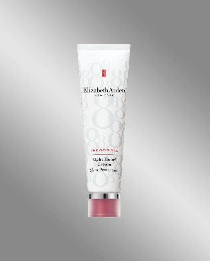 Elizabeth Arden Eight Hour Cream, un prodotto che combatte i radicali liberi e protegge la pelle dalle aggressioni dell'ambiente. Ha un 'effetto calmante e antinfiammatorio che agisce in circa otto ore. Si applica sul viso per rivitalizzare il colorito, sulle mani per renderle più morbide e su ginocchia.caviglie e piedi per dare sollievo alle gambe stanche.