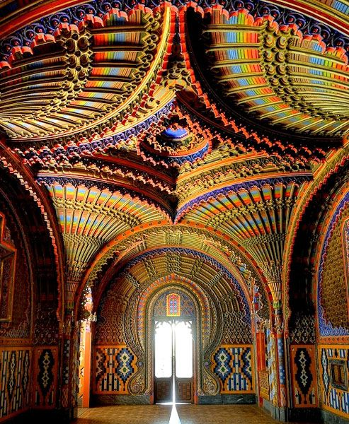 The Peacock Room Castello Di Sammezzano In Reggello Tuscany Italy Within An Abandoned Castle In Tuscany You Can Find The Peacock Room A Hidden