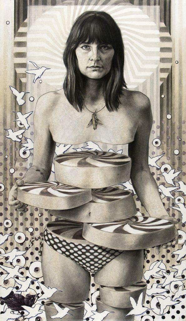 Michael Reedy's Surreal Anatomy Drawings | Hi-Fructose Magazine