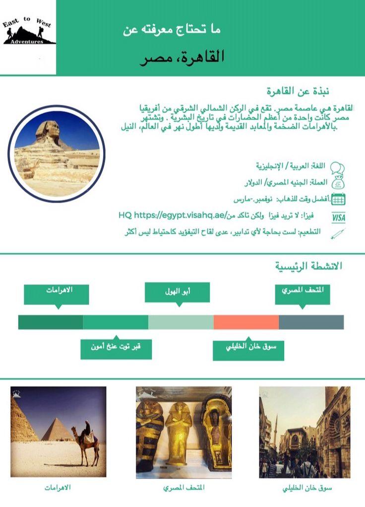 """كل ما تحتاج معرفته عن القاهرة ،مصر   لمعرفة المزيد عن رحلتنا يمكنك قراءة المدونة على المدونة """"انقر اللينك"""" #اوراق_الغش #ورقة_غش #ورقة_غش_القاهرة #القاهرة #مصر"""