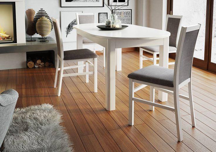Stół Rozkładany Neptun 1. Istnieje możliwość dokupienia krzeseł do pełnego kompletu.